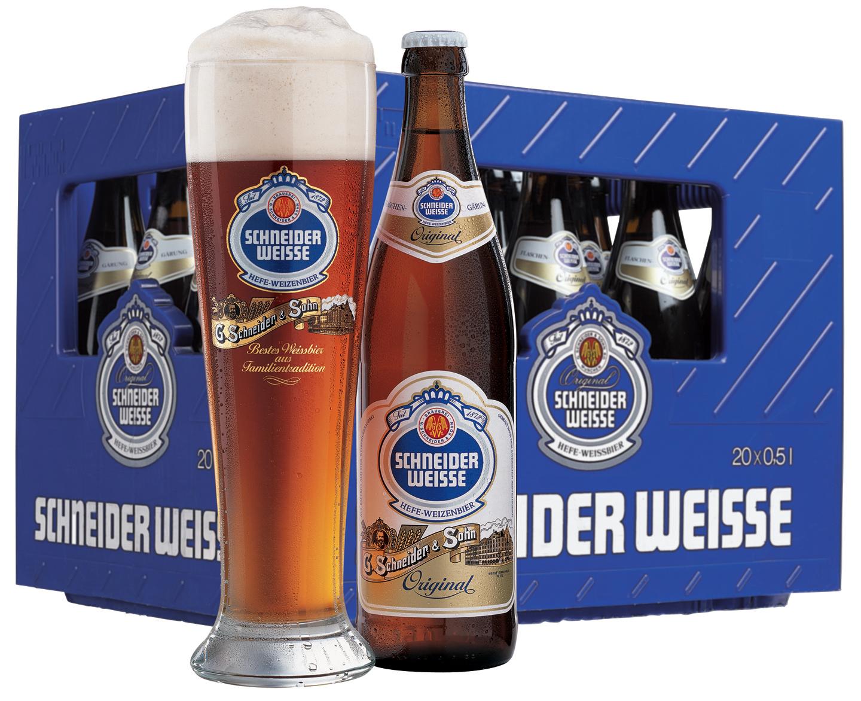 Schneider Weisse Original 19,30 € - Ihr Getränke-Shop