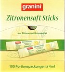 Zitronensaft-Sticks   6,50 €